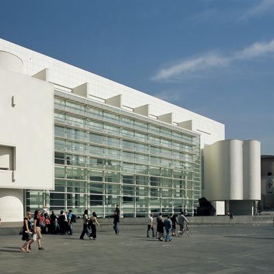 Museu d'Art Contemporani de Barcelona (MACBA).  (Imagen M.A.S.)