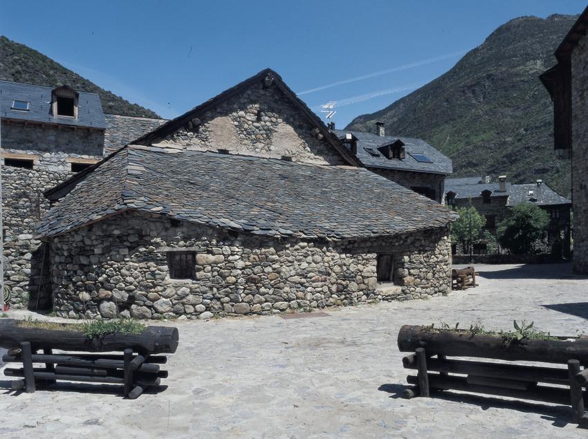 Calle de Erill la Vall.  (Imagen M.A.S.)