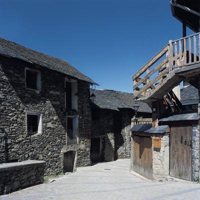 Centre històric de Durro.
