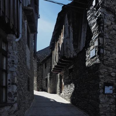 Straße in Durro.