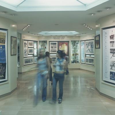 Museo del Futbol Club Barcelona.  (Imagen M.A.S.)