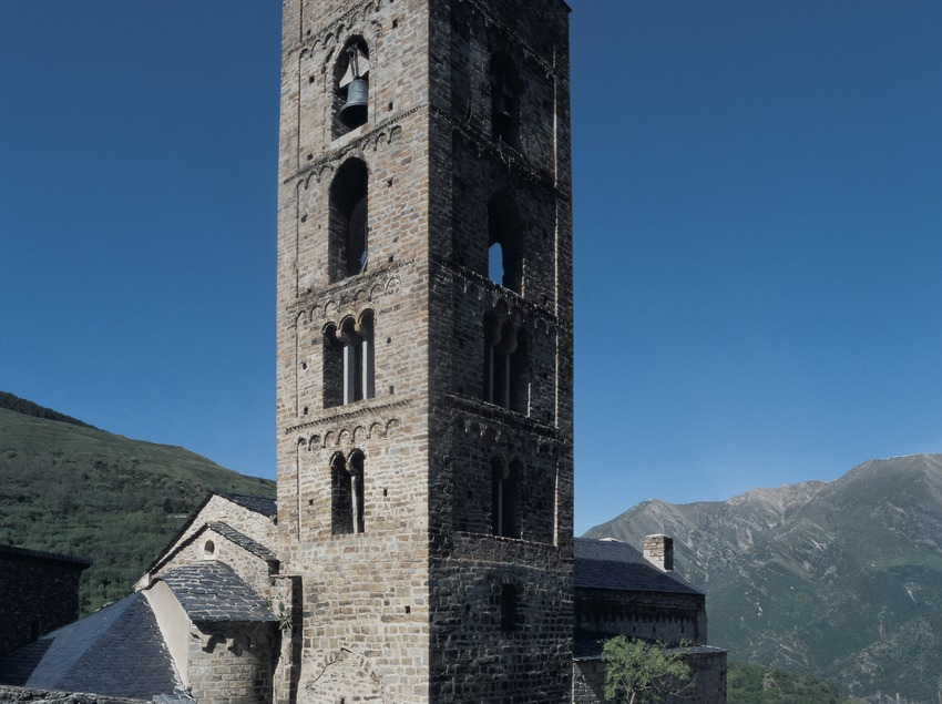 Iglesia de la Nativitat de Durro.  (Imagen M.A.S.)
