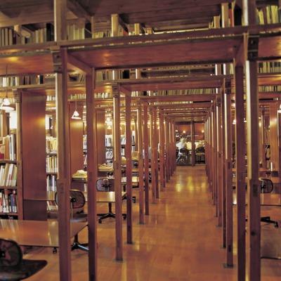 Interior de la Fundació Antoni Tàpies.  (Imagen M.A.S.)