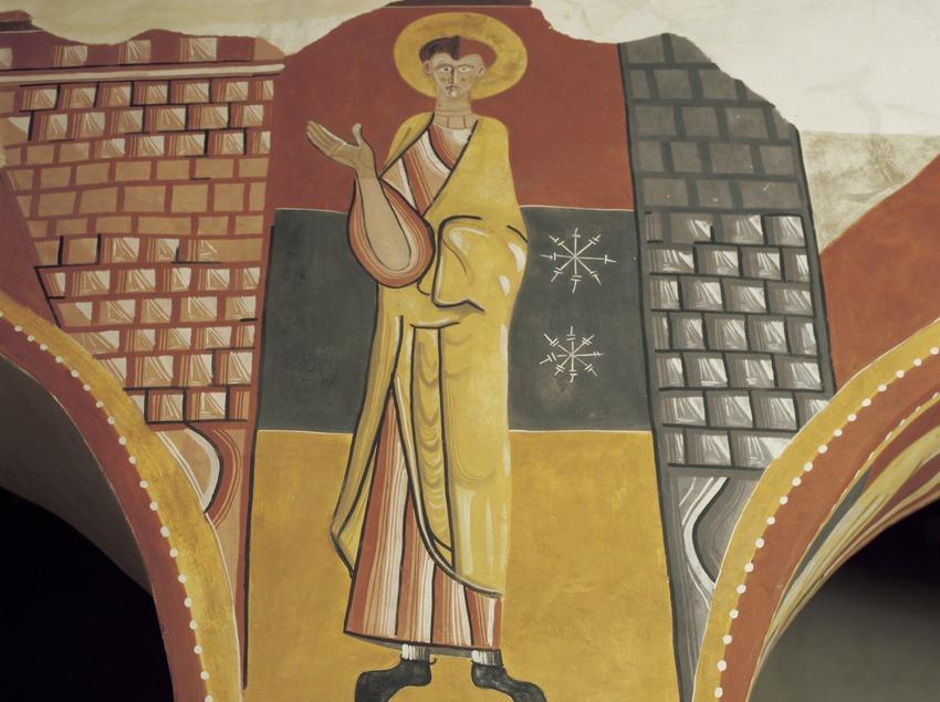 Interior de l'església de Sant Joan de Boí.  (Imagen M.A.S.)