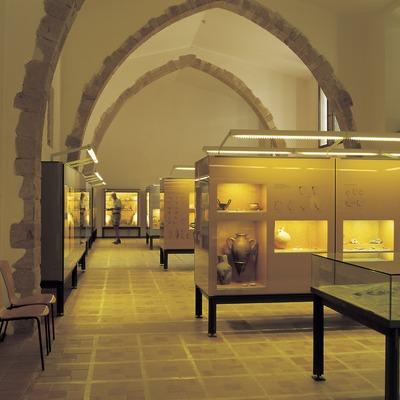 Sala del Museo de Arqueología de Catalunya-Ullastret.  (Imagen M.A.S.)