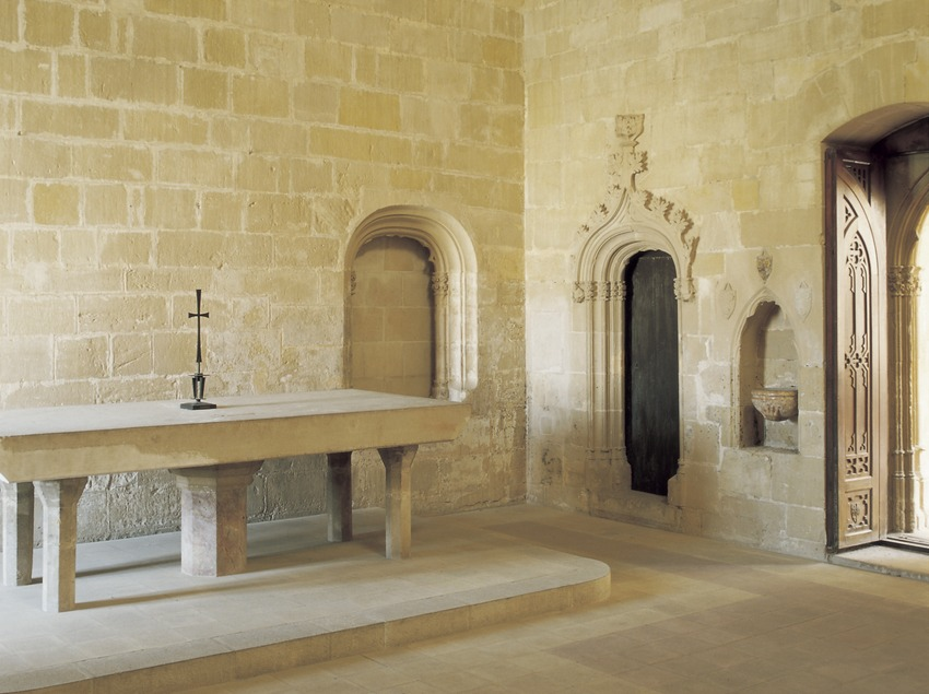 Capilla del Palacio Episcopal.  (Imagen M.A.S.)