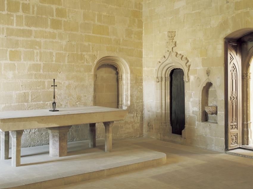 Chapelle du palais épiscopal.  (Imagen M.A.S.)