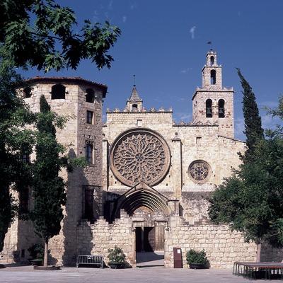 Exterior of Sant Cugat d'Octavià monastery  (Imagen M.A.S.)