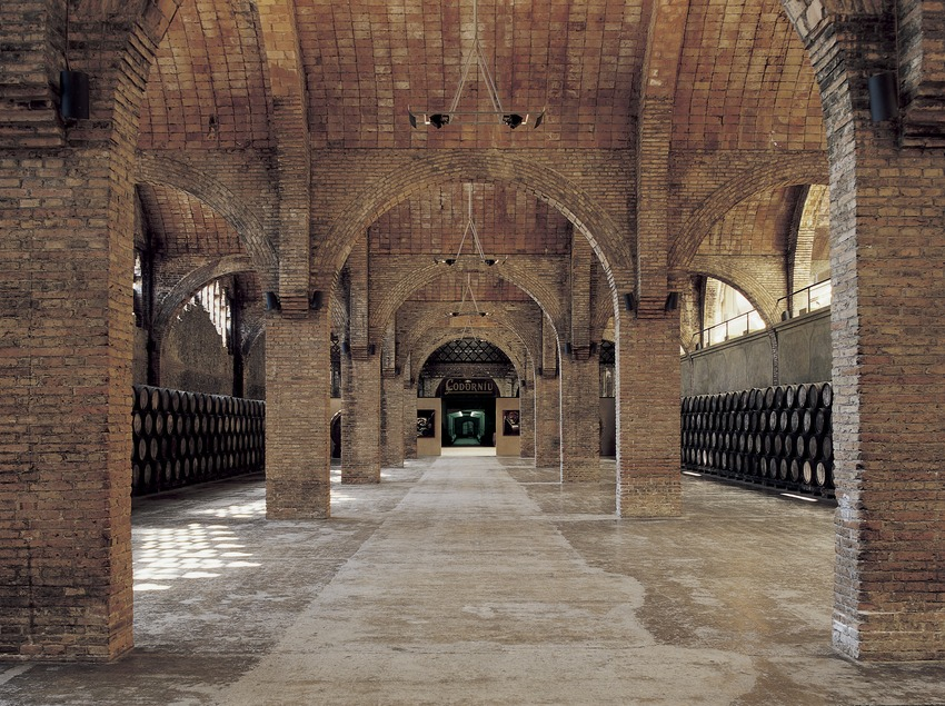 Celler Gran de les Caves Codorniu, de Josep Puig i Cadafalch