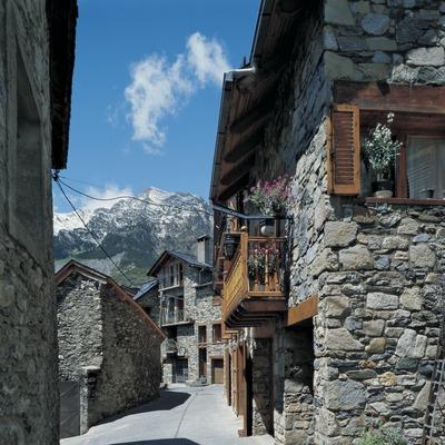 Straße in Boí.
