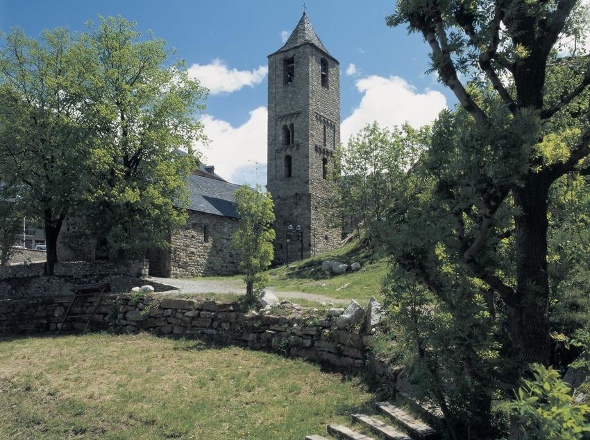 Die Kirche Sant Joan de Boí.