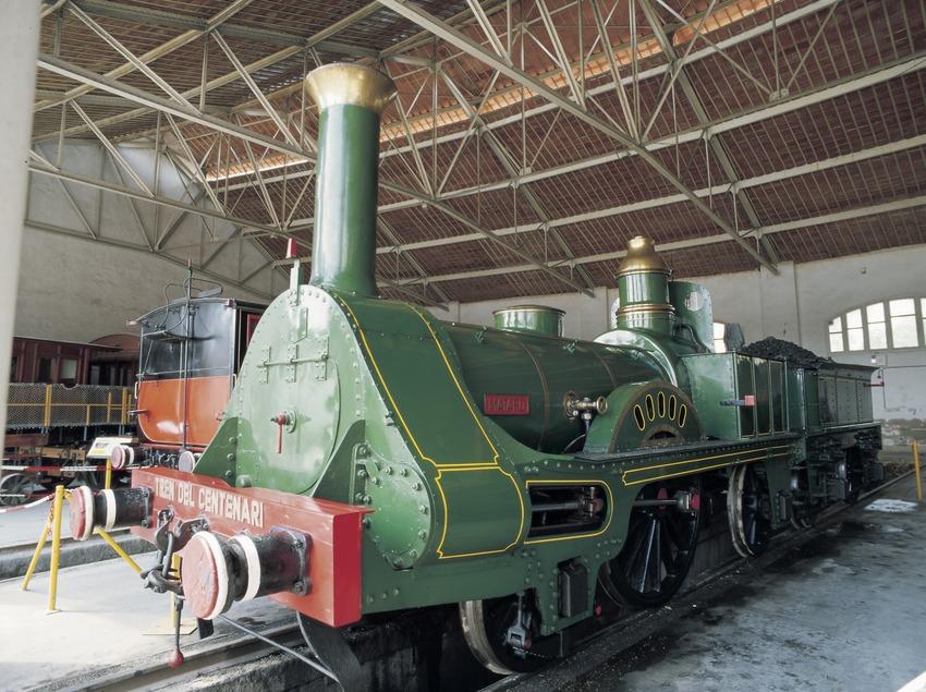 Tren del Centenari. Museu del Ferrocarril
