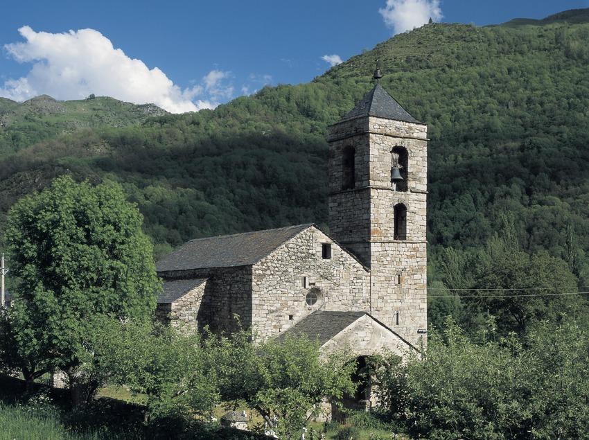 Església de Sant Feliu de Barruera.