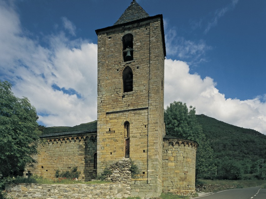 Iglesia de la Assumpció de Cóll.  (Imagen M.A.S.)