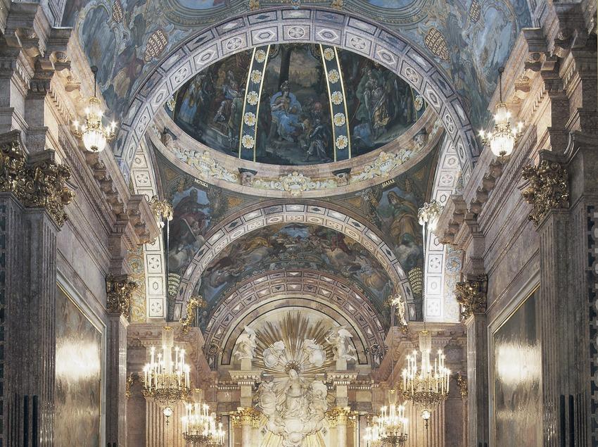 Capilla de la Mare de Déu de la Cinta (siglos XVII-XVIII). Catedral de Santa Maria.  (Imagen M.A.S.)