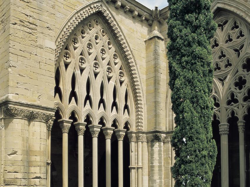 Pati del claustre de la Seu Vella.  (Imagen M.A.S.)