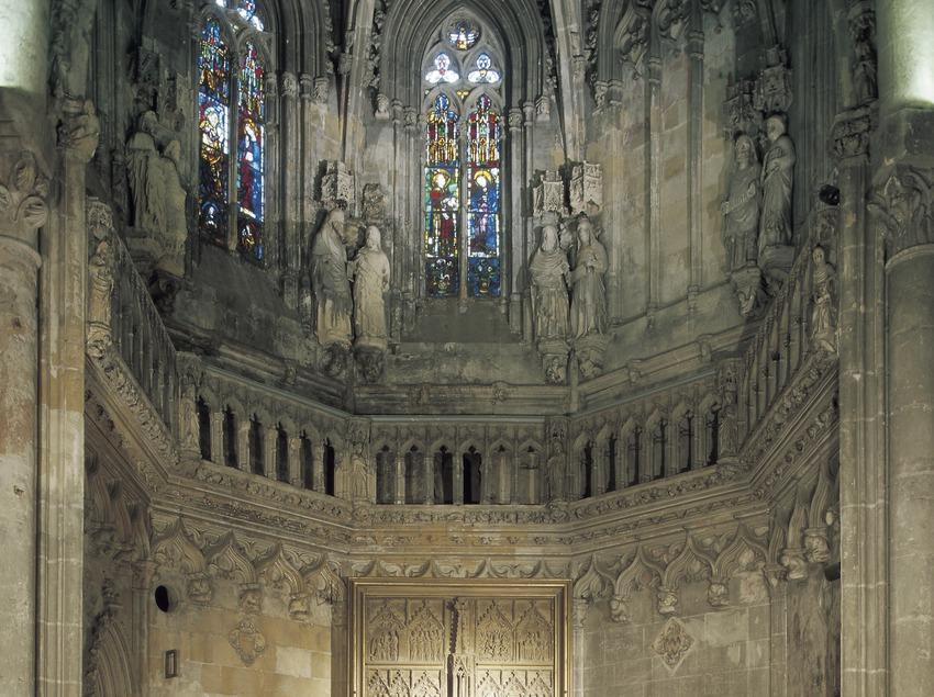 Retablo de Santa Maria dels Sastres (siglo XIV). Catedral de Santa Maria.  (Imagen M.A.S.)