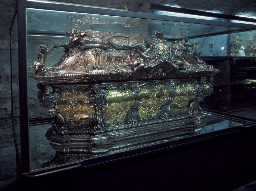 Urna de Sant Ermengol (1755). Pere Lleopart. Museo Diocesano de Urgell.  (Imagen M.A.S.)