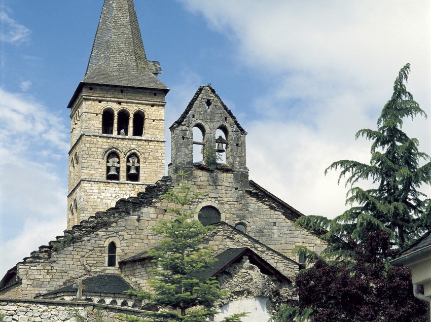 Església de Santa Maria d'Arties.  (Imagen M.A.S.)