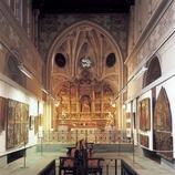 Retable de la Piété (XIVe siècle). Jeroni Xanxo. Musée diocésain d'Urgell.  (Imagen M.A.S.)