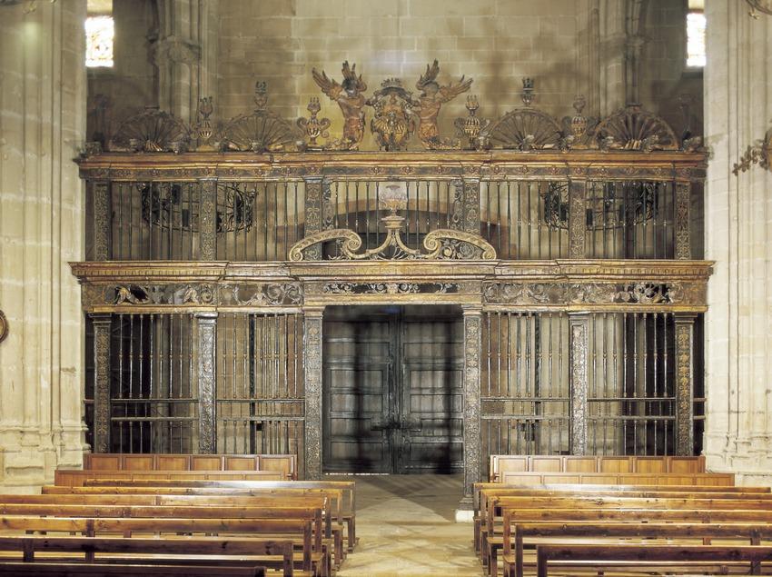 Reja del coro de la catedral de Santa Maria.  (Imagen M.A.S.)