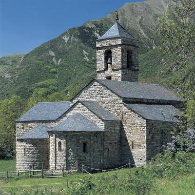 Església de Sant Feliu de Barruera.  (Imagen M.A.S.)