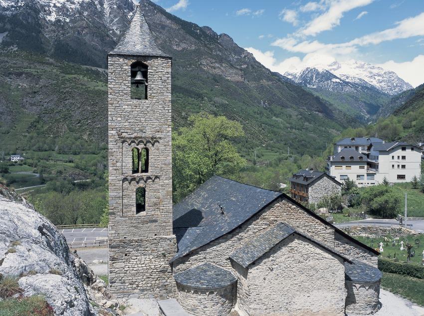 Església de Sant Joan de Boí.  (Imagen M.A.S.)