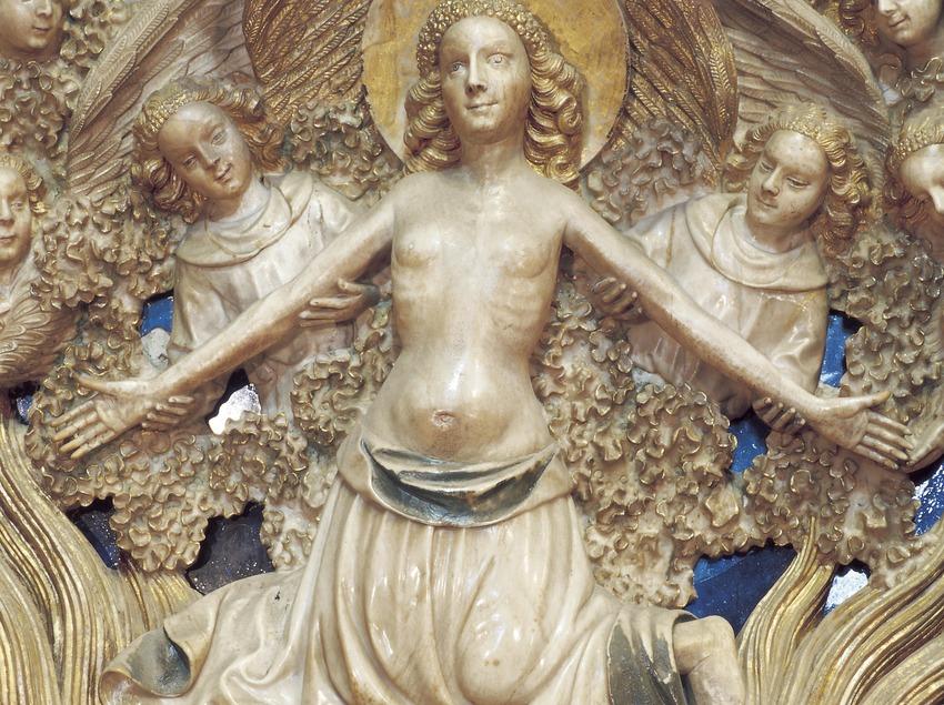 Retablo del altar mayor (siglo XV). Pere Joan. Catedral de Santa Maria.  (Imagen M.A.S.)
