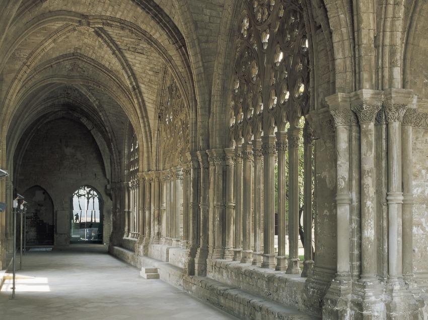 Claustre de La Seu Vella.  (Imagen M.A.S.)
