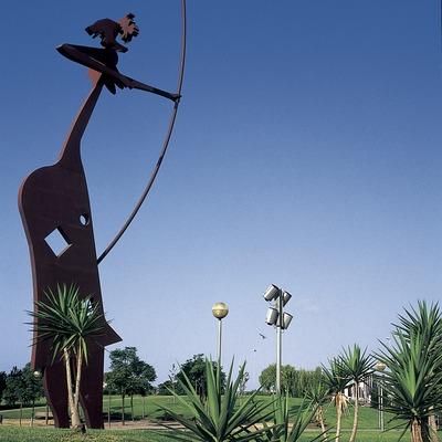Laia l'Arquera (1975). Josep M. Rovira Brull  (Turismo Verde S.L.)