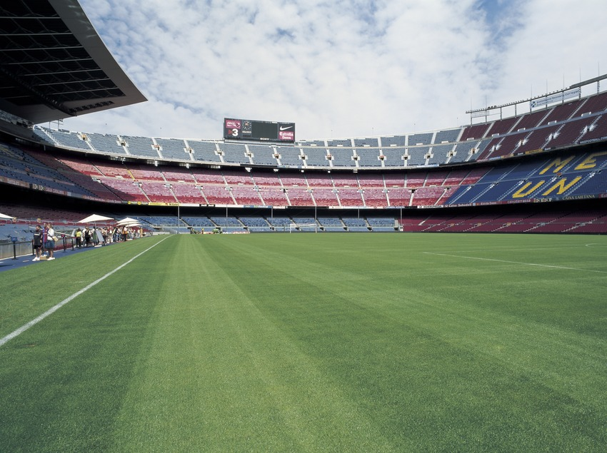 Camp Nou. Estadio del Futbol Club Barcelona.