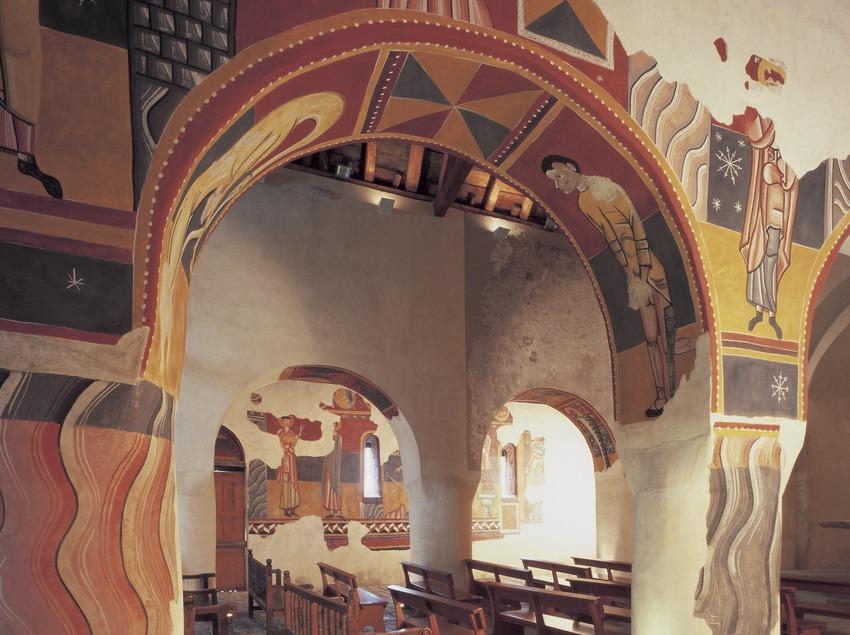 Pintures murals (segle XII) de l'església de Sant Joan de Boí.