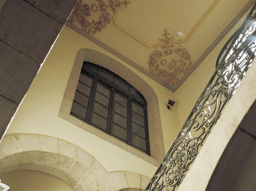 Escalera del Palau de la Virreina.  (Imagen M.A.S.)