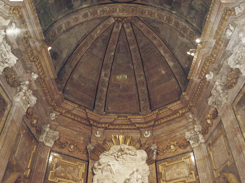 Capella de Santa Tecla (segle XVIII). Josep Prats. Catedral de Santa Maria.  (Imagen M.A.S.)