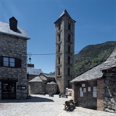 Centro histórico de Erill la Vall.  (Imagen M.A.S.)