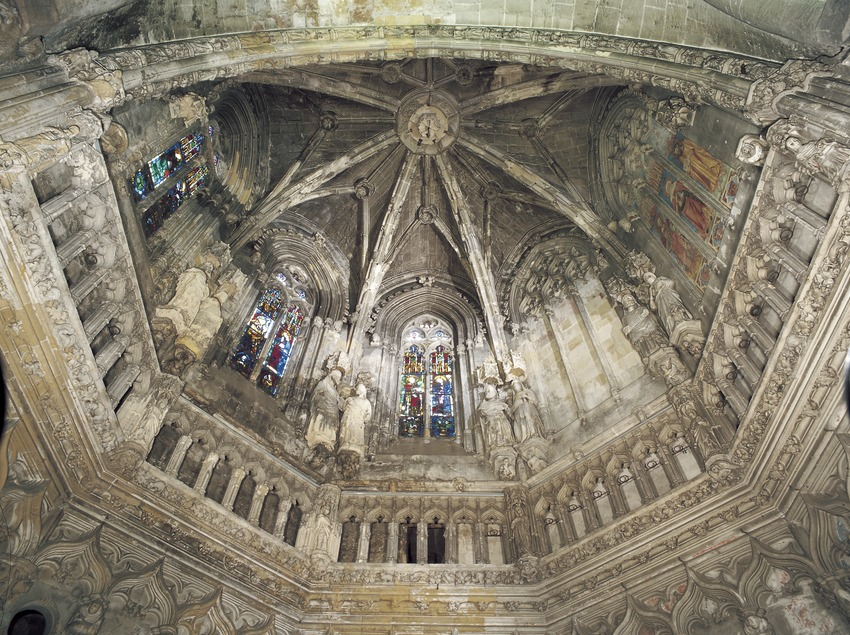 Capilla de Santa Maria dels Sastres (siglo XIV). Catedral de Santa Maria.  (Imagen M.A.S.)