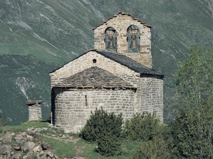 Iglesia de Sant Quirc de Durro.