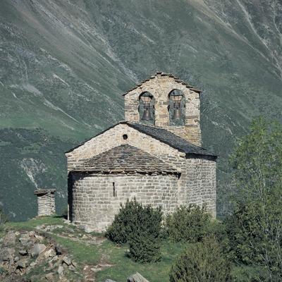 Iglesia de Sant Quirc de Durro.  (Imagen M.A.S.)