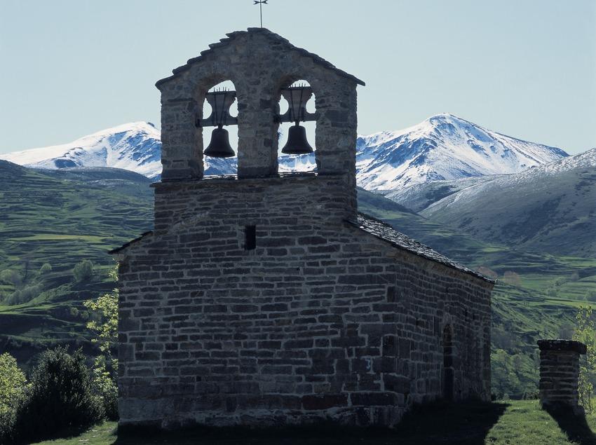 Església de Sant Quirc de Durro.  (Imagen M.A.S.)