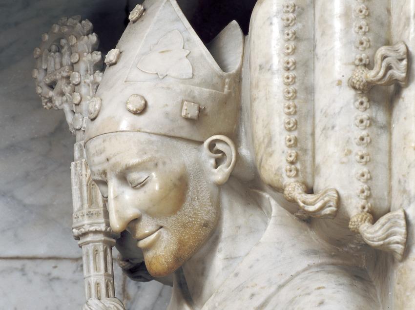 Mausoleu del patriarca-arquebisbe Joan d'Aragó (segle XIV). Catedral de Santa Maria.  (Imagen M.A.S.)