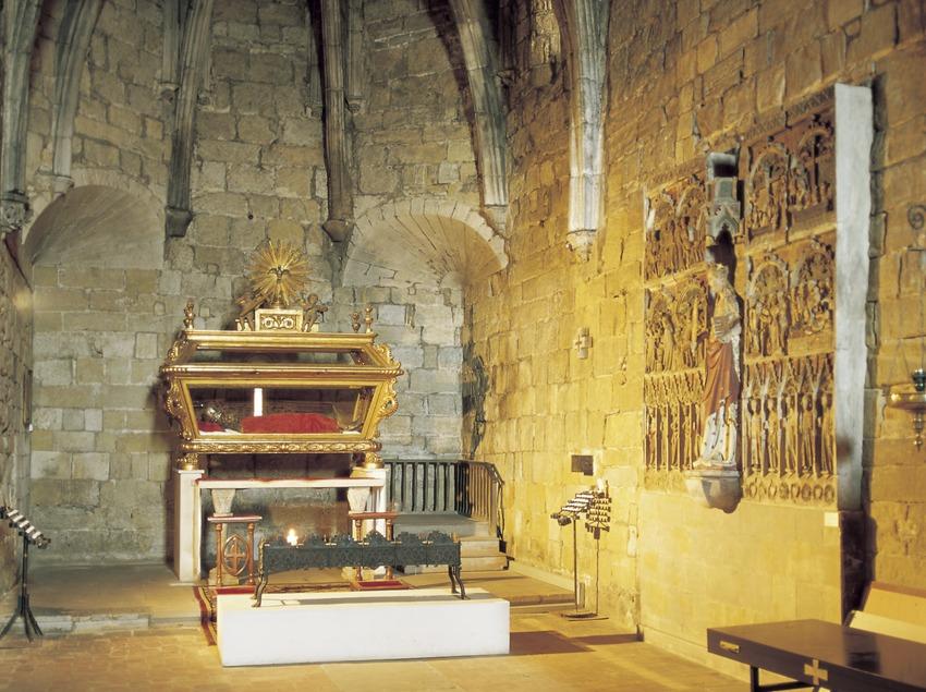 Absidiolo de la iglesia de Sant Llorenç.  (Imagen M.A.S.)