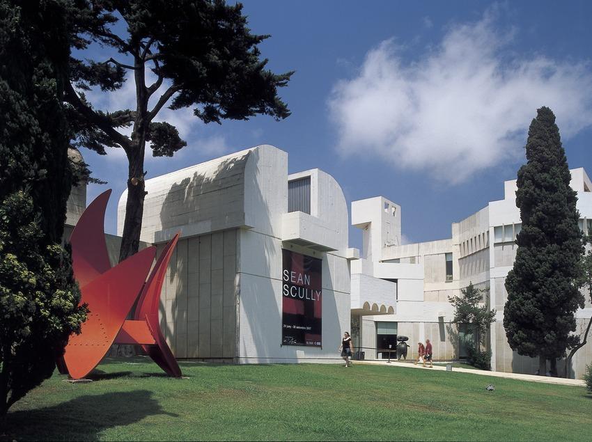 The Joan Miró Foundation building, by Josep Lluís Sert.