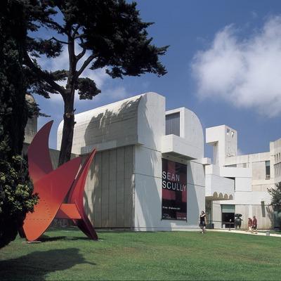 Edificio de la Fundació Joan Miró, de Josep Lluís Sert.
