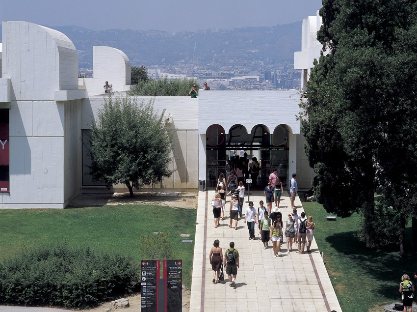 The Joan Miró Foundation building, by Josep Lluís Sert.  (Imagen M.A.S.)