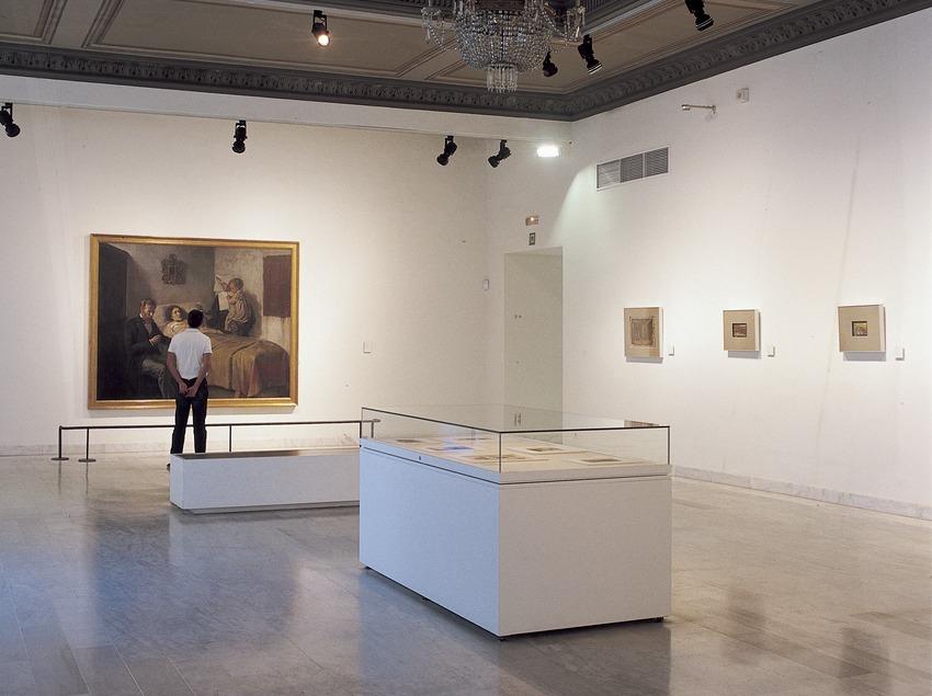 Sala Ciència i Caritat del Museu Picasso.  (Imagen M.A.S.)