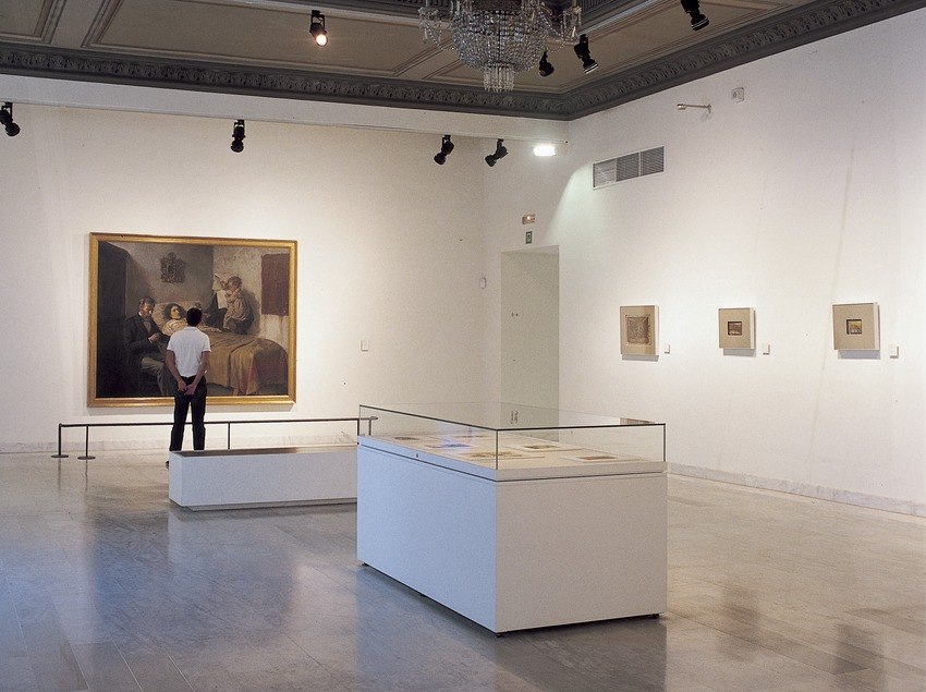 The Science and Charity room in the Picasso Musuem.  (Imagen M.A.S.)