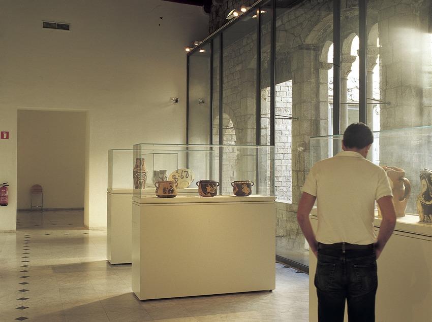 Ceramics room in the Picasso Museum.  (Imagen M.A.S.)
