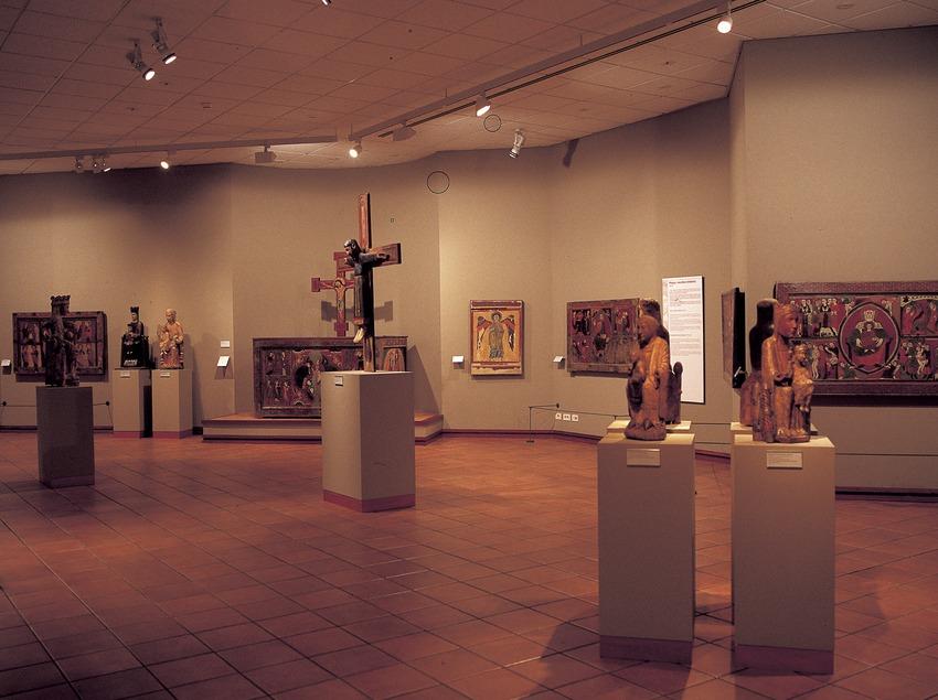 Sala d'art medieval. Museu Episcopal. (Imagen M.A.S.)