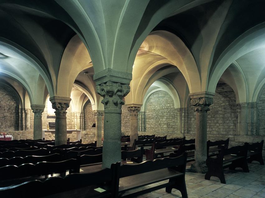 Крипта кафедрального собора Святого Петра. (Imagen M.A.S.)