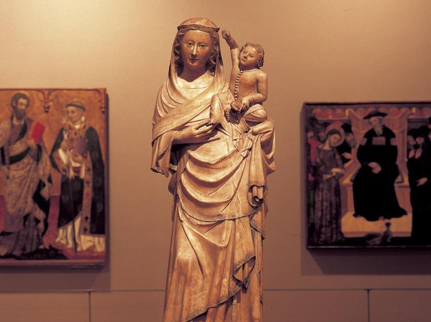 Marededéu de Boixadors (segle XIV). Museu Episcopal. (Imagen M.A.S.)
